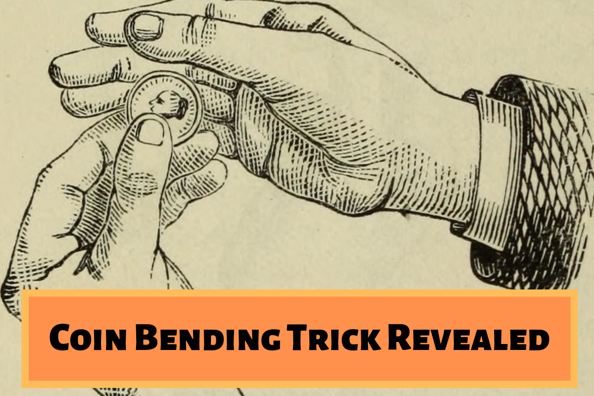 Coin Bending Magic Trick Revealed