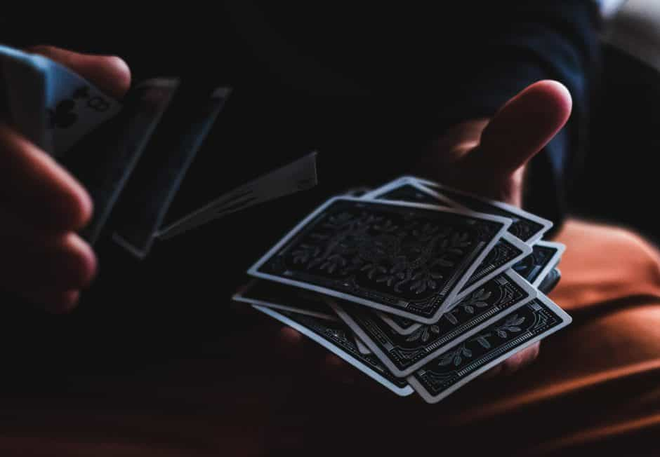 double lift card trick